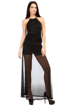 Юбка-шорты черные Mondigo
