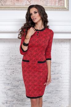 Трикотажное платье миди Angela Ricci
