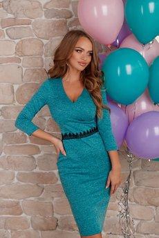 Платье футляр с v-образным вырезом Open-Style