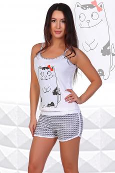 Пижама с котиком Натали